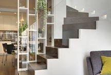 STAIRCASE STORAGE IDEAS / We are big fans of practical design ideas. And who is not. All try to equip your home as practical as possible. In this sense, multi-functional furniture are particularly popular and preferred. Of course they must appear modern to. Enjoy the interesting interiors and get inspired!