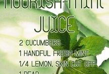 Healthy drinks, Juices, and Smoothies
