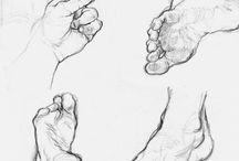 Kreslenie - Nohy