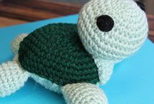 Crocheted Animals and Dolls