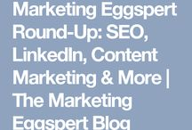 Egg Marketing Round-up Posts / Every month I curate 10 articles that are mainly about Marketing for http://www.eggmarketingpr.com/blog. I am the content editor there and we are always looking for guest writers. Please do get in touch if you'd like to contribute an article