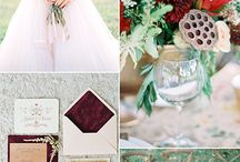 Marsala wedding