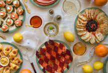colazioni da libro / dall'autrice (Dinah Fried) di un originale progetto una serie di colazioni preparate prendendo spunto da libri famosi