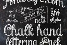 Typographie / Schriftensammlung