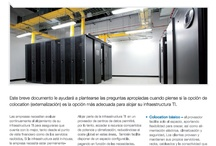 Interxion - Colocation / Para muchos, la externalización del centros de datos a proveedores especializados de alojamiento constituye la mejor solución. Las compañías mantienen el control de sus infraestructuras TIC a la vez que se benefician de la tecnología avanzada, la escalabilidad, la seguridad y la disponibilidad que brindan los centros de datos externos. Todo ello permite a su vez a las empresas centrarse en sus operaciones empresariales principales. / by Interxion España Data Center