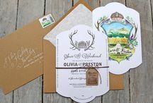 TENN Hens Design / Wedding Invitations, Branding, Bridesmaids