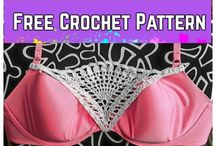 crochet lace triangle fliller