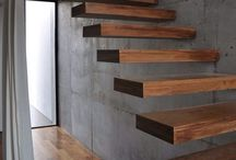 ahsap merdiven dekor