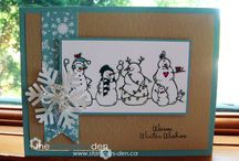 Stampin up - Frosty friends