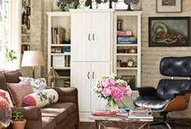 Home Ideas:  Livingroom / by Erin Waters