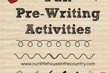 Pre-writting