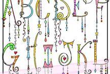 zenspiration alphabet