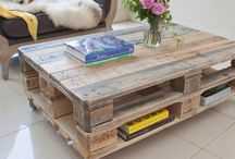 Pallets inspiration / Furniture created with pallets