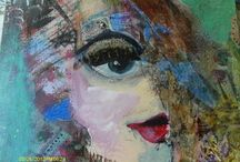 Painted Ladies (Faces by ME) / by Kath