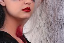 Blood and shine / Make up: Olga Gila