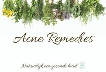 Solve acne naturally / Herbal and holistic remedies and organic skincare to clear up your acne