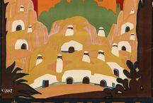 Terracotta / la terre comme matériaux et comme couleur : terre cuite, terre crue, pisé, argile, brique, poterie brute, ocres, bruns, roux...