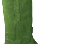 groene laarzen