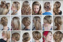Hairstyles / Creative styles for longer hair