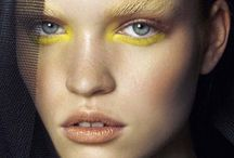 Make up in yellow