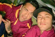 Dani Alves i Neymar