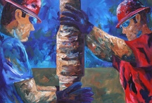Trippin' on evening tour / Drilling oil and gas wells / by Theresa Sessions