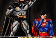 LOL Batman & Superman