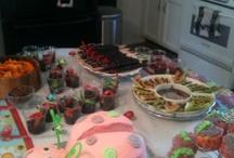 Elise's lady bug party