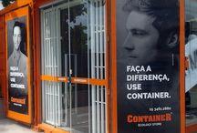 Container Ecology Store / Produzimos há algumas semanas os adesivos de porta para a Container Ecology Store, loja conceito. Com mídia de alta durabilidade e impressão tecnologia latex – ecologicamente correta, mais qualidade e consciência ambiental na realização do projeto. Esperamos que este seja o primeiro de muitos outros trabalhos! ;)