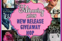 Book giveaways and blogs
