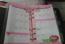My moms creative calendar!