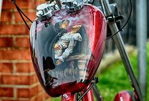 Bike Art / Tank Art, Art with bikes..... just Bike Art!