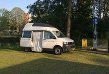 VW modern campervans / Modern solutions for the Volkswagen campervan T5 and T6