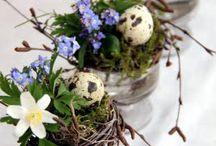 Deco table de Pâques