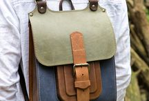 mochilas de cuero
