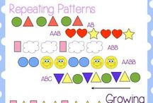 Math - Patterning / Patterning activities for kindergarten, 1st grade and 2nd grade. Math center activites #pattern #mathpatterns