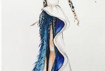 Elbise Çizimi