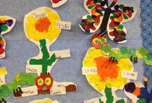 Life cycle bulletin board for classroom / by Jennifer Mencinsky
