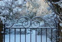 Gardens in Winter found by Dioptics / beautiful gardens in winter