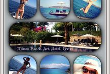 Minos Beach art hotel moments... / Moments of our guests in Minos beach art hotel.. Enjoy! http://goo.gl/EixyJ0