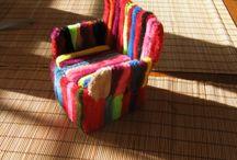 muebles en miniatura