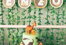 Festa Dinossauro / Decoração de Festa Infantil