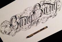 Lettring tattoo