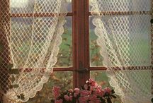 Firanki szydełkowe curtains crochet