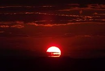 Sunset is red because ?