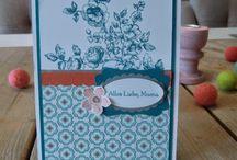 Muttertagskarten - eigene Werke