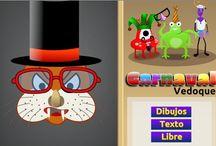 Carnaval: Juegos y actividades educativas / Juegos de carnaval online con elementos educativos.