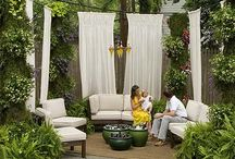 Outdoor living / by Judy Henriques-Evans