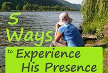 stil wees tyd saam met God