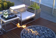 Rooftop terrace / Design ideas
